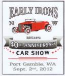 40th Annual Early Irons Rod Run0