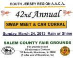 42nd Annual Swap Meet & Car Corral at Salem County Fairgrounds 0