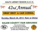 42nd Annual Swap Meet & Car Corral at Salem County Fairgrounds 0