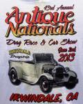 43rd Antique Nationals Drag Race & Car Show0