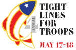4th.annual Tight Lines for Troops Downtown Salute Car Show 0