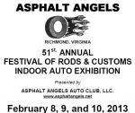 51st Annual Asphalt Angels Festival of Rods & Customs Auto Show0