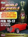 51st Annual O'Reilly Auto Parts Milwaukee World of Wheels0