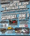 5th  Annual Mid-Atlantic Car Show and Nostalgia Drags0
