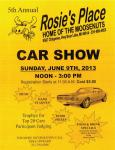 5th Annual Rosie's Place Car Show0