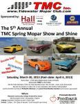 5th Annual TMC Spring Mopar Show and Shine0