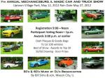 7th Annual Mechanicsburg, Illinois Magic Car & Truck Show0
