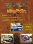 Alameda High School 1st Annual Car Show0