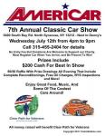 Americar 7th Annual Classic Car Show 1