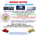 "Barnum Festival ""The Greatest Car Show on Earth""0"