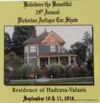Belvidere Victorian Days Vintage & Classic Car Show1