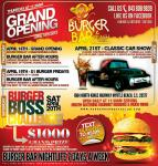 Burger Bar & Beach Club Grand Opening Classic Car Show0