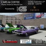 CARS AND COFFEE at the CAR LOFTS0