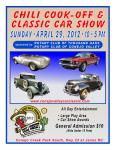 Chili Cook-Off and Classic Car Show0