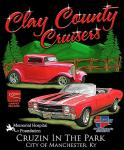 Clay County Cruisers September 2014 Cruise in the Park0
