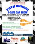 Colorado School of Mines 20th Annual E-Days Car Show0