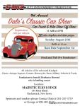 Dale's 9th Annual Classic Car Show1