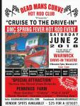 "DEADMAN CURVE HOT ROD CLUB ""CRUISE TO THE DRIVE-IN""0"
