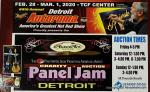 Detroit Autorama - Motor City Auto Arts Pinstriper's Panel Jam1