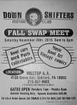 Down Shifters Motor Club Fall Swap Meet0