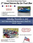 Eastern KY Veterans Center 3rd Annual Car and Truck Show0