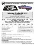Flemington Speedway Historical Society CAR SHOW 20191