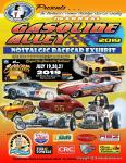 GASOLINE ALLEY Nostalgic Race Car Display at Syracuse Nats 20190