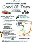 Good Ol' Days 20th Annual Car Show0
