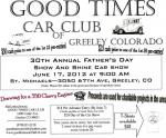 Good Times Car Club's 30th Annual Show & Shine0