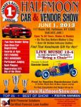 Halhmoon Car and Vendor Show0