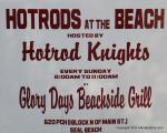 Hot Rods at the Beach0