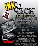 INK & IRON CHARITY BIKE RUN AND CAR SHOW0