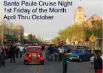 June Santa Paula Cruise Night June 7, 20130