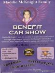 Maddie McKnight Family Benefit Car Show1