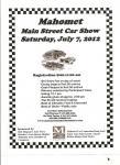 Mahomet Main Street Car Show0