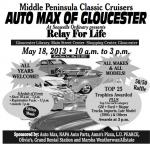 Middle Peninsula Classic Cruisers Relay for Life Car Show0