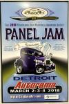 MOTOR CITY AUTO ARTS MAVENS PINSTRIPER'S, SIGN PAINTERS and AIRBUSH ARTISTS PANEL JAM0
