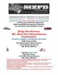 MZFD Fundraiser & Car Show0