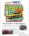 NEC Show & Shine with the Frantic Ford Funny Car0