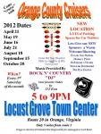 Orange County Cruisers Locust Grove cruise0