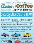 Pawleys Island Cars & Coffee -July Heat66