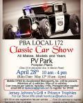 PBA Local 172 Classic Car Show0