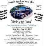 """""""Picnic at the Grove"""" Car Show 0"""