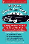 Pompton Lakes Chamber of Commerce 18th Annual Car Show0