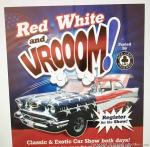 Red, White & Vroom Car Show0