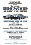 Ringwood Chamber of Commerce 3rd Annual Classic Car Show0