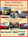 Rock N Roll Cafe's Monthly Cruise-In May 18, 20130