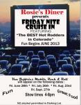 Rosie's Diner Friday Nite Cruise-In June 28, 20130