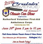 Rutherford EMS 4th Annual Cruisin on the Avenue Car Show0