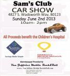 Sam's Club Car Show to Benefit Children's Hospital0